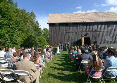 The Barn - Outside Ceremony